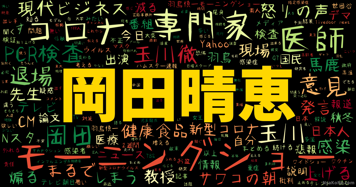 岡田 先生 モーニング ショー
