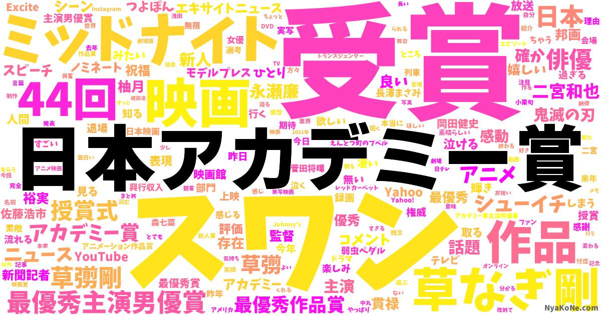 ツイッター 草なぎ さっちゃん 剛 草なぎ剛、最優秀主演男優賞を初受賞!「慎吾ちゃん、吾郎さんも支えてくれた」(TOKYO HEADLINE